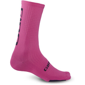 Giro HRC Team Chaussettes, bright pink